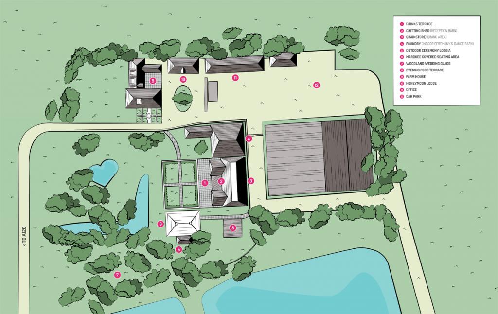 Houchins Venue Map