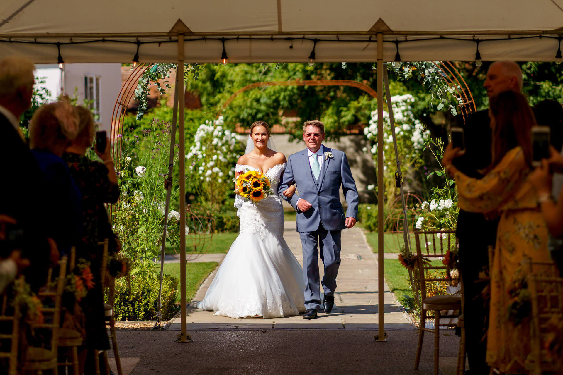 Houchins Wedding Entrance