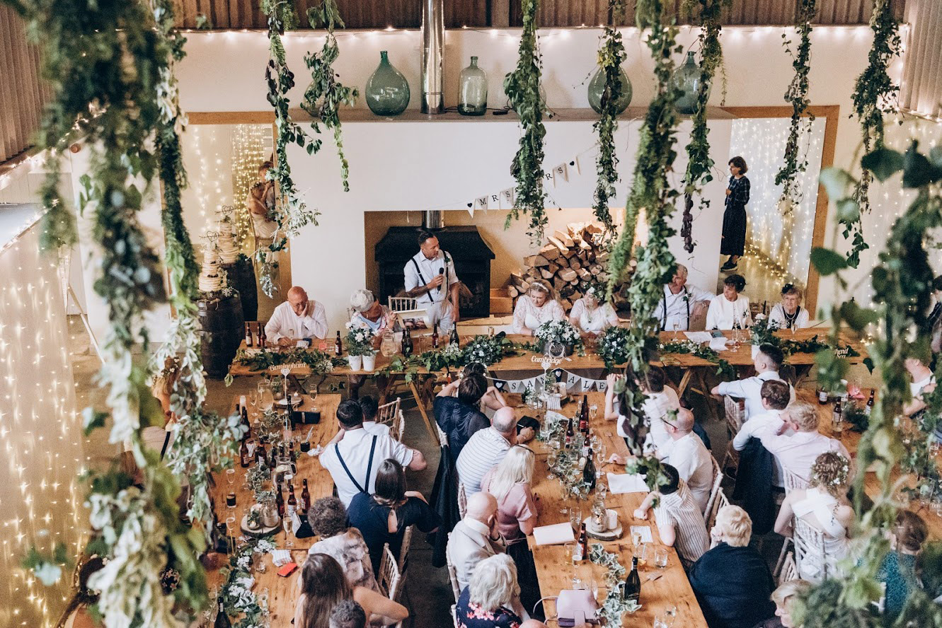 Wedding Breakfast Barn