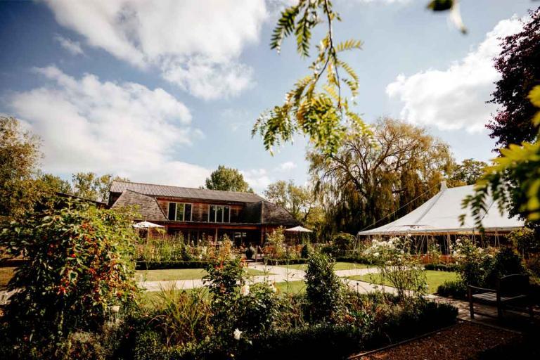 Summer wedding venue near Colchester