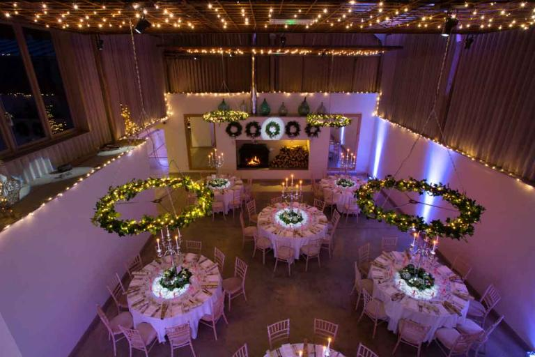Winter Wedding Tables