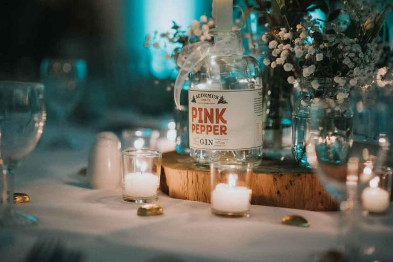 Candlelit Wedding table